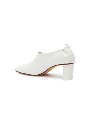 - GRAY MATTERS - 'Micol' choked-up leather pumps