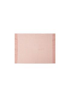 LANE CRAWFORD Ape tea towel –Pink/Cream White