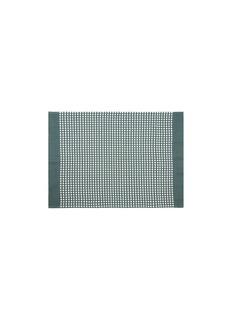 LANE CRAWFORD Ape tea towel –Green/Cream White
