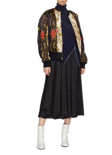 TOGA ARCHIVES Reversible graphic print bomber jacket