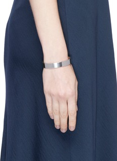 Le Gramme 'Variation Slick Le 33 Grammes' polished sterling silver cuff