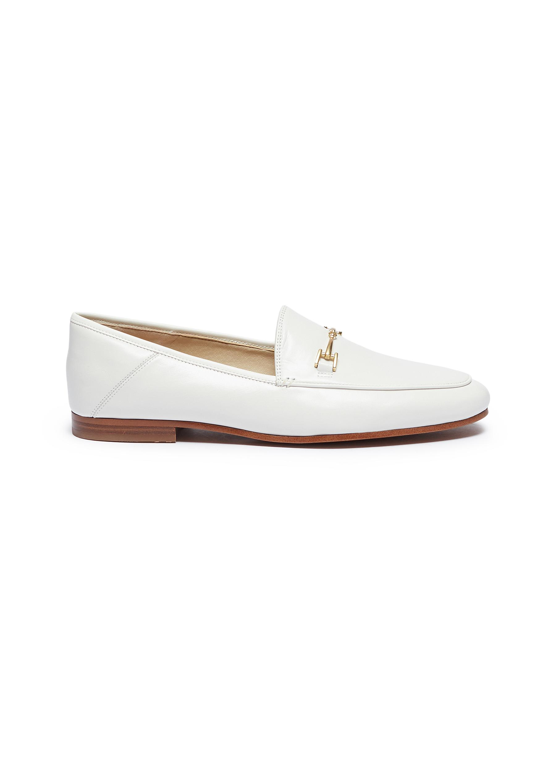 Loraine horsebit leather step-in loafers by Sam Edelman