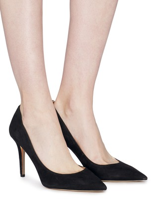 2b1f5a8420aa Figure View - Click To Enlarge - Sam Edelman -  Margie  suede pumps