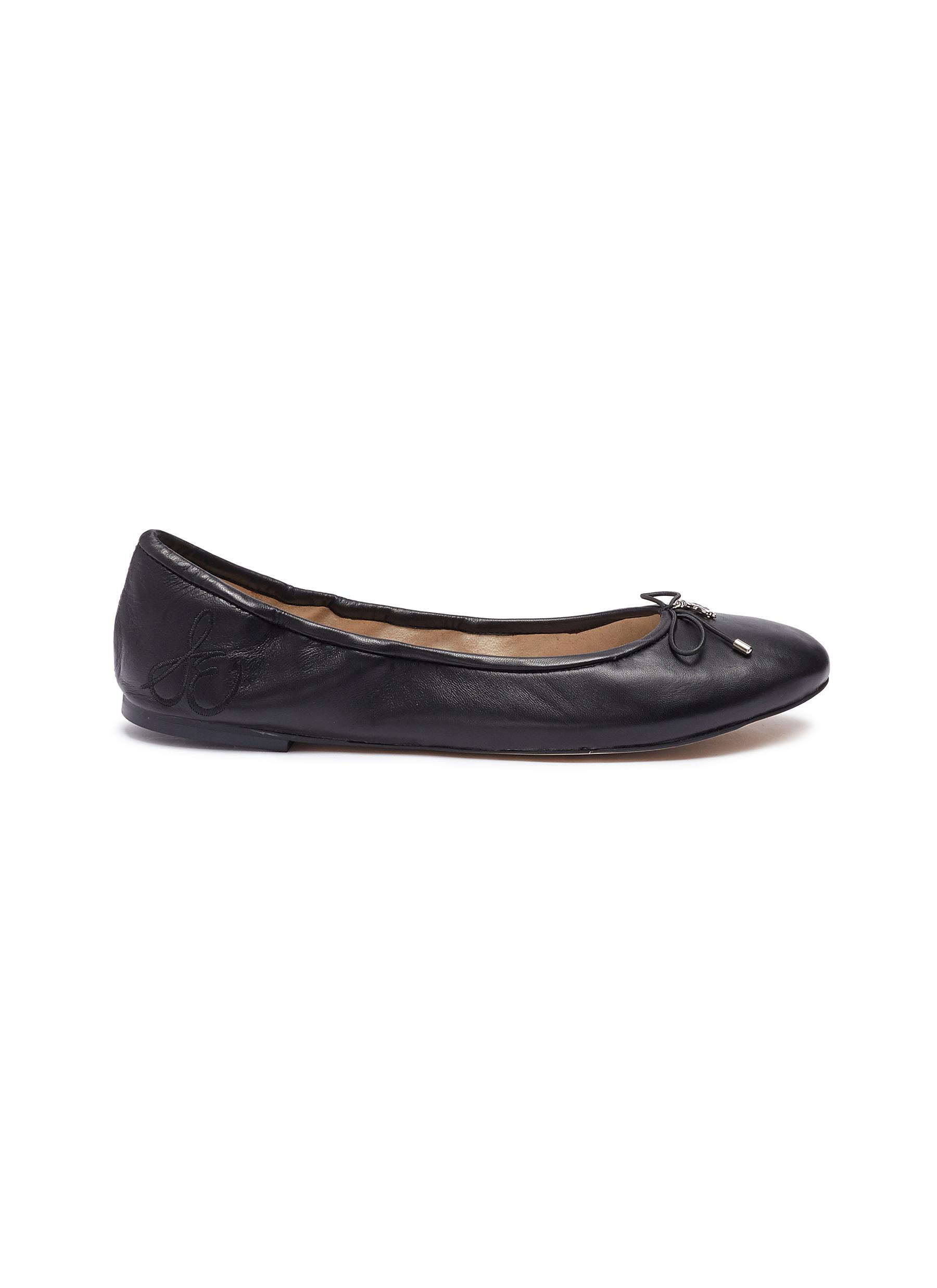 Felicia leather ballet flats by Sam Edelman