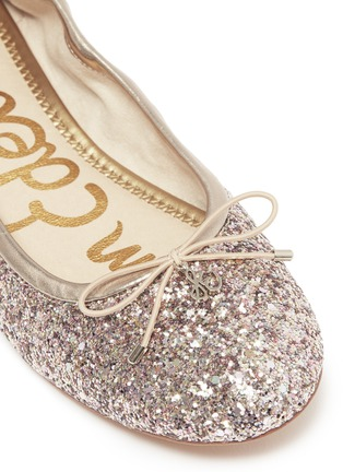 33feccf11d821 ... Detail View - Click To Enlarge - Sam Edelman - Felicia coarse glitter  ballet fast delivery ...