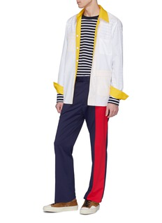 Marni Colourblock jersey pants