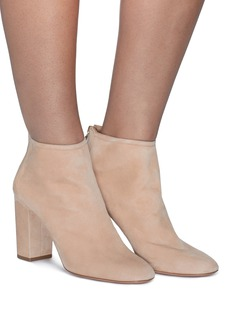 Aquazzura 'Downtown 85' suede ankle boots