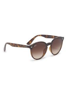 Ray-Ban 'Blaze' tortoiseshell acetate round sunglasses
