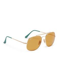 Ray-Ban 'General' metal square aviator sunglasses