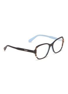 Prada Colourblock acetate square opetical glasses