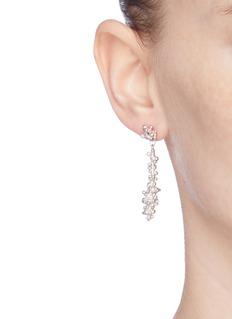 Belinda Chang 'Bubbling Sensations' freshwater pearl column earrings