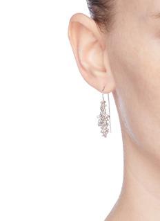 Belinda Chang 'Bubbling Sensations' freshwater pearl drop earrings