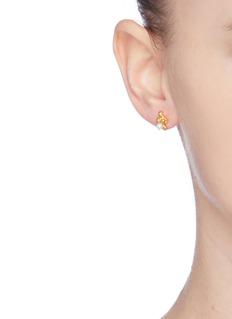 Belinda Chang 'Bubbling Sensations' freshwater pearl stud earrings