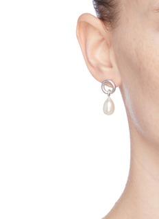 Belinda Chang Freshwater pearl drop earrings