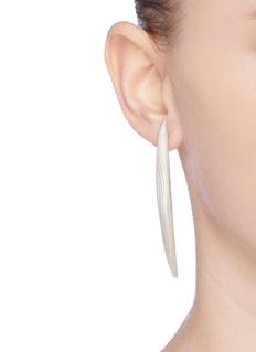 Belinda Chang 'Palm leaf' long drop earrings