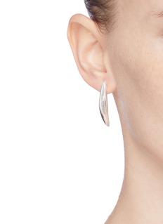 Belinda Chang 'Palm leaf' small drop earrings