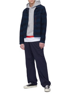 Marni Stripe hem hoodie
