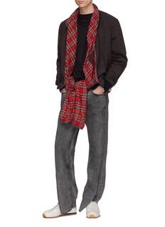 Y/Project Tartan plaid lining bomber jacket