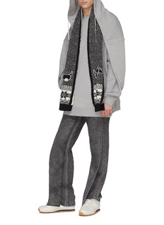 Y/Project Panelled wide leg jeans