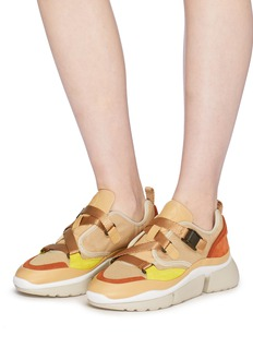 Chloé 'Sonnie' chunky outsole low top sneakers