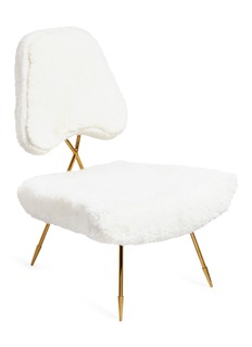 Jonathan Adler Maxime lounge chair – Shearling