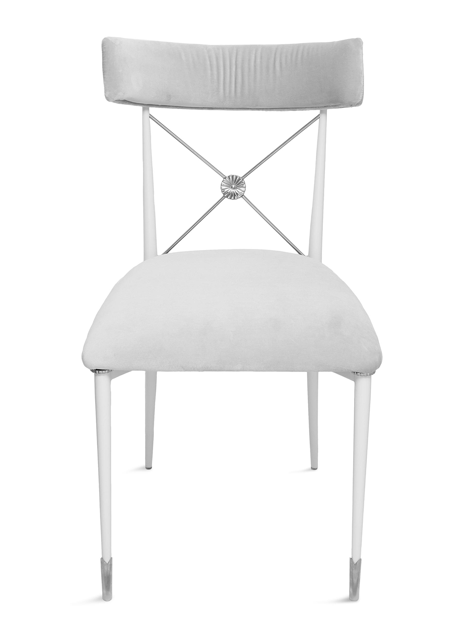 Jonathan Adler Rider Dining Chair Rialto Smoke Women Lane