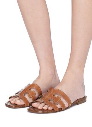 94b959e46 Figure View - Click To Enlarge - Sam Edelman -  Bay  leather slide sandals