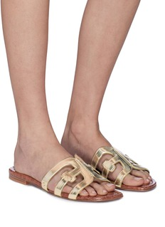 Sam Edelman 'Bay' faux leather slide sandals
