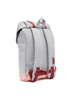 The Herschel Supply Co. Brand 'Retreat' colourblock canvas 14L kids backpack