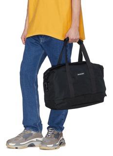 Balenciaga 'Explorer' logo patch medium gym bag
