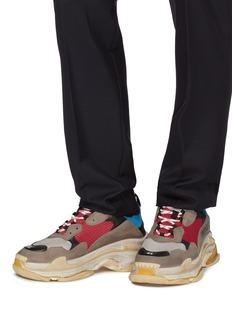 Balenciaga 'Triple S' stack midsole mesh sneakers