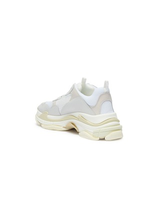 Detail View - Click To Enlarge - Balenciaga - 'Triple S' stack midsole mesh sneakers