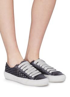 Pedro García 'Padme' basketweave satin sneakers