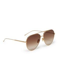SUNDAY SOMEWHERE 'Ruben' metal aviator sunglasses