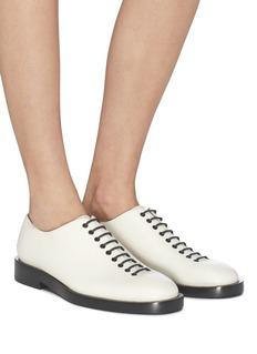 Jil Sander Lace-up leather shoes