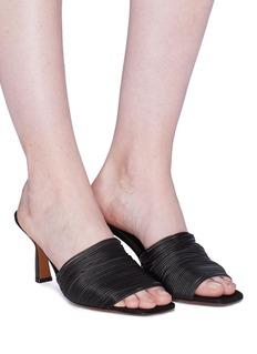 NEOUS 'Shom' geometric heel strappy sandals