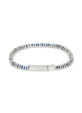Main View - Click To Enlarge - TATEOSSIAN - 'Mini Click' silver disc bead bracelet