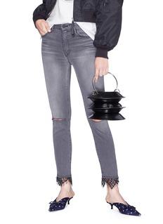 Kara 'Pinch Lantern' leather bag