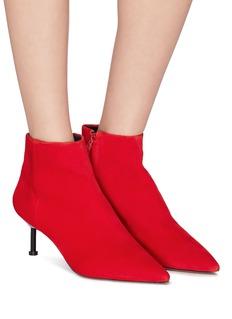 Mercedes Castillo 'Arita Mid' kid suede ankle boots