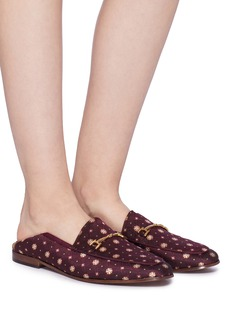Sam Edelman 'Loraine' horsebit geometric jacquard step-in loafers