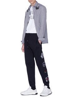 McQ Alexander McQueen Logo patch outseam sweatpants