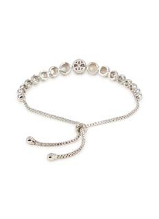 CZ by Kenneth Jay Lane Cubic zirconia beaded bracelet