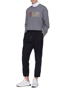 McQ Alexander McQueen Pleated track pants