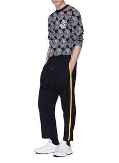 McQ Alexander McQueen Stripe outseam virgin wool sweatpants