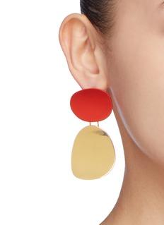OOAK Colourblock detachable earrings
