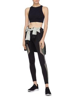 Koral 'Zenith Maxen' cutout back jacquard sports bra
