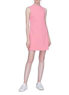 alice + olivia 'Coley' sleeveless mini shift dress