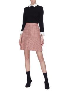 alice + olivia 'Aster' detachable ruffle cuff sweater