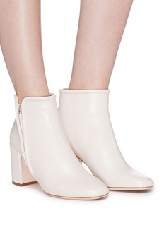 RODO Zip leather ankle boots
