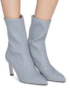 Stuart Weitzman 'Rapture' stretch suede sock ankle boots